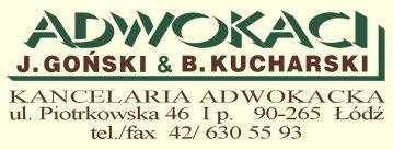 Adwokaci Goński & Kucharski logo